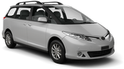 HITCH CAR RENTALS Car rental Christchurch - Airport Van car - Toyota Estima