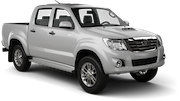 KASINA Car rental Penang - International Airport Van car - Toyota Hilux Double