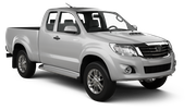 EUROPCAR Car rental Bangkok - City Centre Van car - Toyota Hilux Vigo Smart Cab