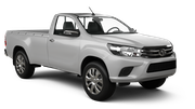 BIZCAR Car rental Don Mueang - Airport Van car - Toyota Hilux