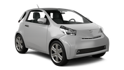 GREEN MOTION Car rental Huddersfield Mini car - Toyota IQ