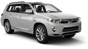 BUDGET Car rental Melbourne - Richmond Suv car - Toyota Kluger