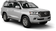 ALAMO Car rental Panama City - Hotel La Cresta Inn Suv car - Toyota Land Cruiser