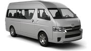 BUDGET Car rental Killarney - Town Centre Van car - Toyota Minibus