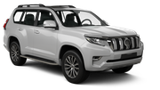 HERTZ Car rental Abu Dhabi - Downtown Suv car - Toyota Prado