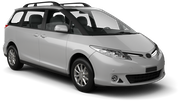 THRIFTY Car rental Abu Dhabi - Intl Airport Van car - Toyota Previa