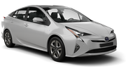 HERTZ Car rental Huntington Standard car - Toyota Prius Hybrid