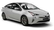 HERTZ Car rental Milwaukee Airport Standard car - Toyota Prius Hybrid