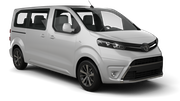BUDGET Car rental Massy - Tgv Station Van car - Toyota Proace