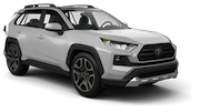 ALAMO Car rental Miami - Mid-beach Suv car - Toyota Rav4
