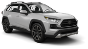 HERTZ Car rental Dubai - Downtown Suv car - Toyota Rav4