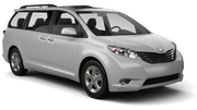 ALAMO Car rental Miami - Mid-beach Van car - Toyota Sienna
