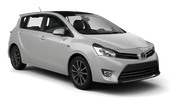 HERTZ Car rental Beer Sheva Van car - Toyota Verso