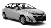 AVIS Car rental Changi Airport - T3 Compact car - Toyota Vios