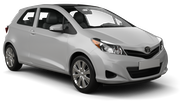 ACE Car rental Newark International Airport New Jersey Economy car - Toyota Yaris