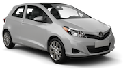 THRIFTY Car rental Canberra - Downtown Economy car - Toyota Yaris
