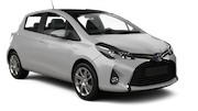BUDGET Car rental Paphos - Airport Economy car - Toyota Yaris