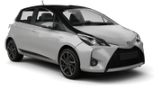 BUDGET Car rental Panama City - Hotel La Cresta Inn Economy car - Toyota Yaris