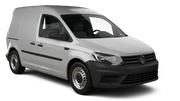 EUROPCAR Car rental Tel Aviv - Airport Ben Gurion Van car - Volkswagen Caddy
