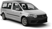 EUROPCAR Car rental Rehovot Van car - Volkswagen Caddy