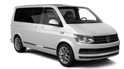 EUROPCAR Car rental Esch Alzette Downtown Van car - Volkswagen Caravelle