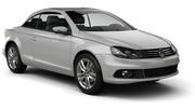 GREEN MOTION Car rental Podgorica Airport Convertible car - Volkswagen Eos Convertible