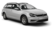 GREEN MOTION Car rental Huddersfield Standard car - Volkswagen Golf Estate
