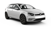 BUDGET Car rental Lincoln Compact car - Volkswagen Golf