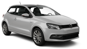 AVIS Car rental Luxembourg Railway Station Economy car - Volkswagen Polo