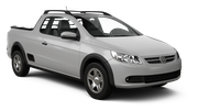 LOCALIZA Car rental Duque De Caxias - Central Suv car - Volkswagen Saveiro Pickup