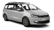 KEDDY BY EUROPCAR Car rental Sheffield Van car - Volkswagen Sharan