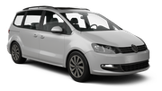 SIXT Car rental Vigo - Airport Van car - Volkswagen Sharan