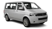 AVIS Car rental Luxembourg Railway Station Van car - Volkswagen T6