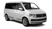 ALAMO Car rental Brussels - Train Station Van car - Volkswagen Transporter