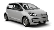EUROPCAR Car rental Luxembourg Railway Station Mini car - Volkswagen Up