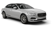 BUDGET Car rental Luxembourg Railway Station Luxury car - Volvo S90